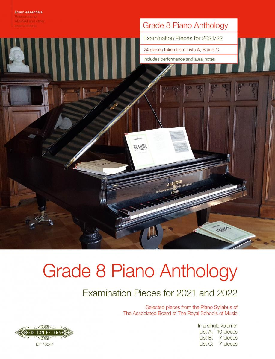 Grade 8 Piano Anthology: Examination Pieces for 2021 and 2022