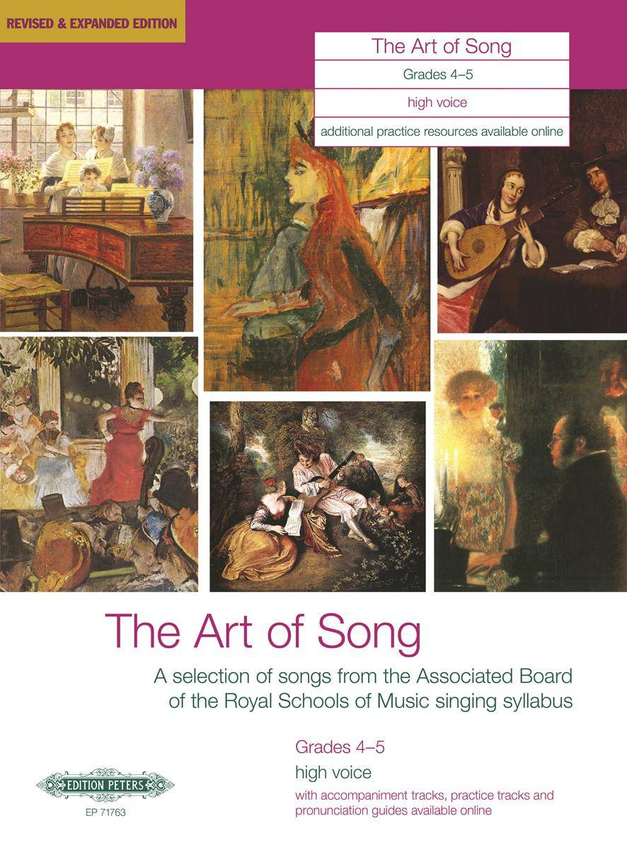 The Art of Song: Selected Songs, Grades 4 - 5, hohe Stimme