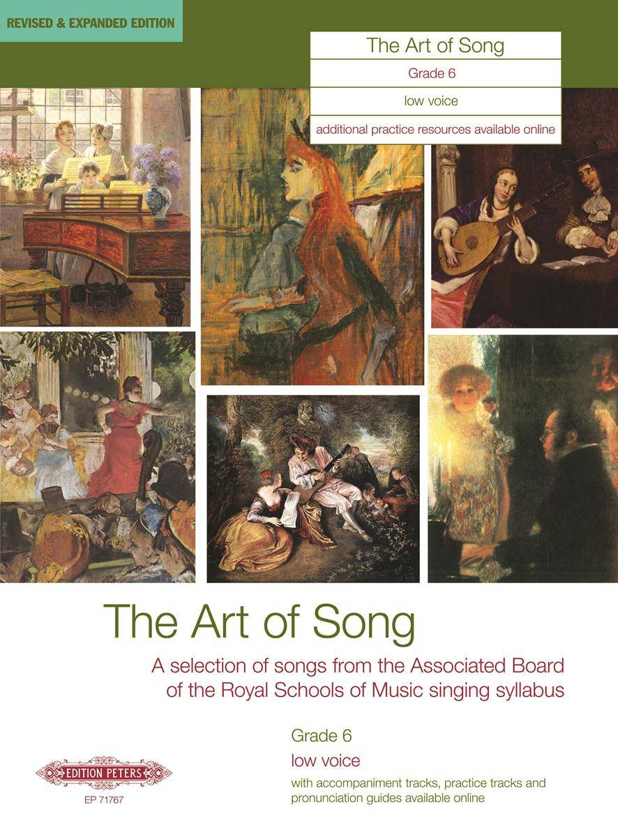 The Art of Song: Selected Songs, Grade 6, tiefe Stimme