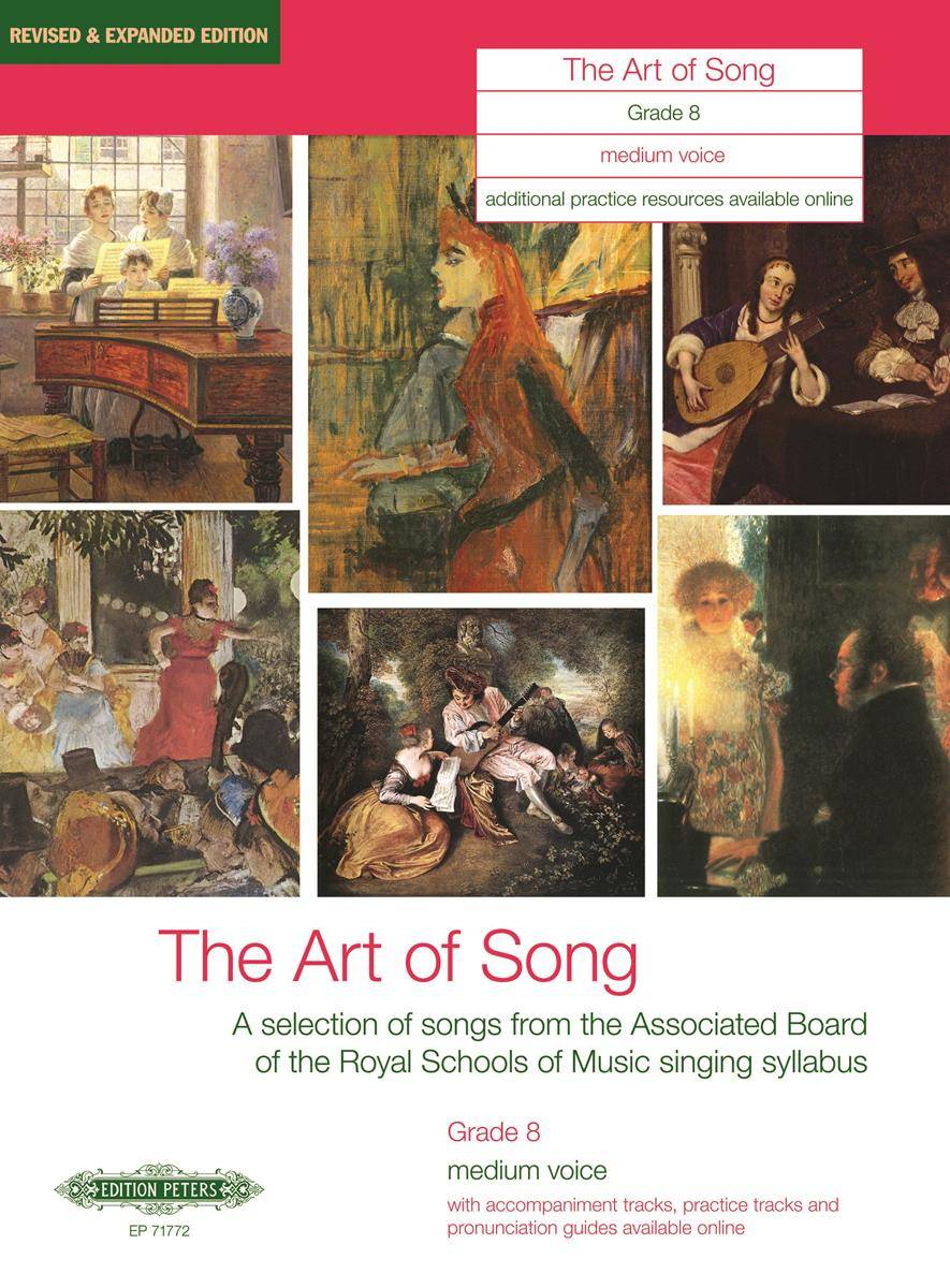 The Art of Song: Selected Songs, Grade 8, mittlere Stimme
