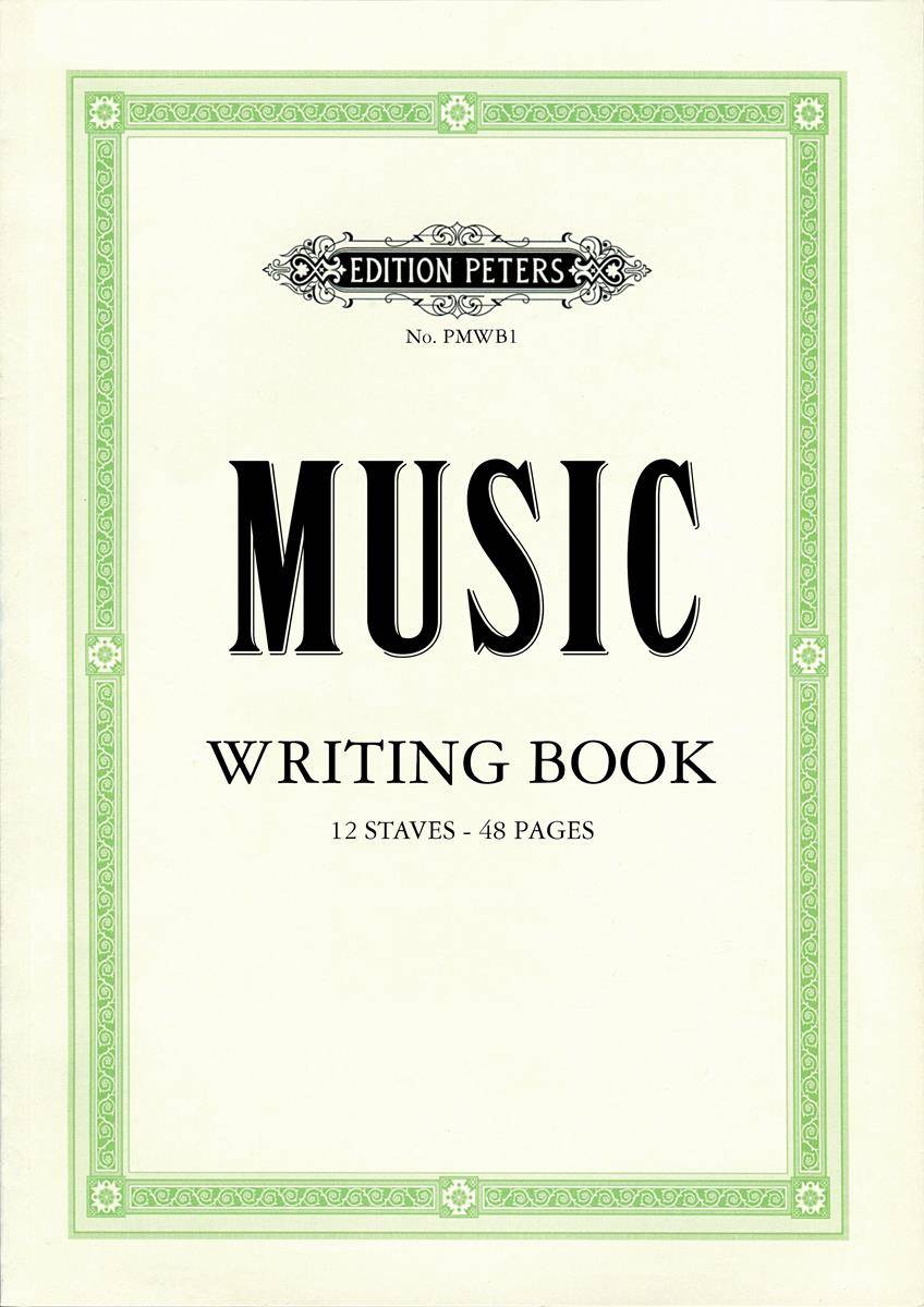Peters Music Writing Book - mittel