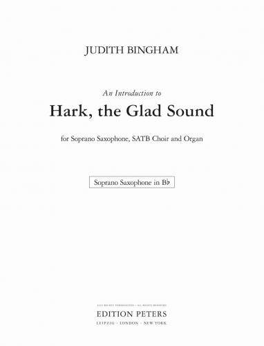An Introduction to Hark, the Glad Sound (Saxophone part)