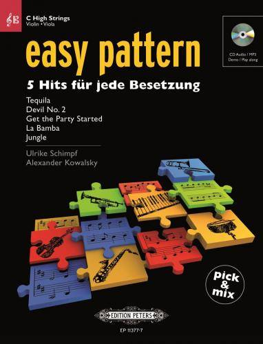 easy pattern | C High Strings