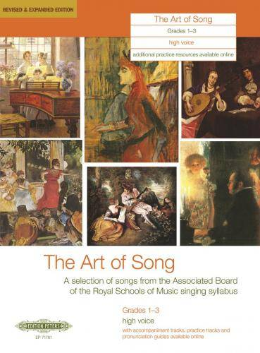 The Art of Song. Selected Songs, Grades 1 - 3, hohe Stimme