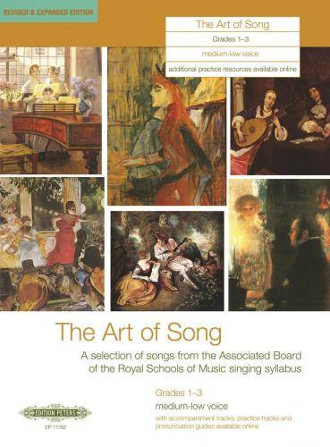 The Art of Song. Selected Songs, Grades 1 - 3, mittlere / tiefe Stimme