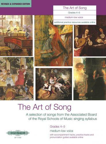 The Art of Song: Selected Songs, Grades 4 - 5, mittlere / tiefe Stimme