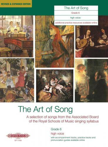 The Art of Song: Selected Songs, Grade 6, hohe Stimme