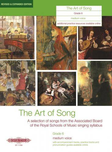 The Art of Song: Selected Songs, Grade 6, mittlere Stimme