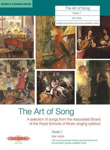 The Art of Song: Selected Songs, Grade 7, tiefe Stimme