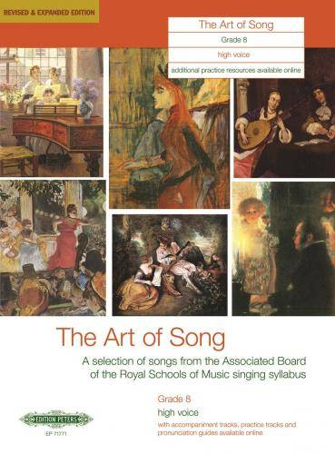The Art of Song: Selected Songs, Grade 8, hohe Stimme