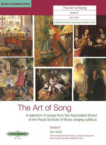 The Art of Song: Selected Songs, Grade 8, tiefe Stimme