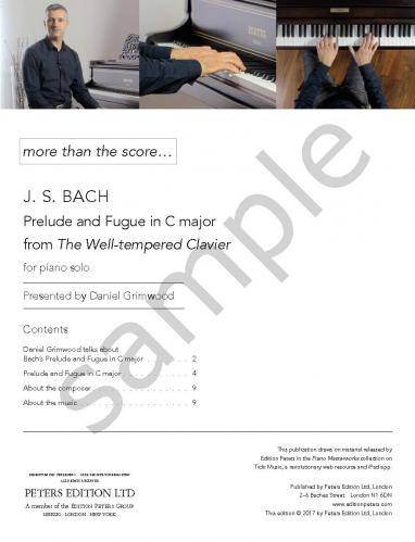Präludium und Fuge C-Dur BWV 846 (more than the score…)